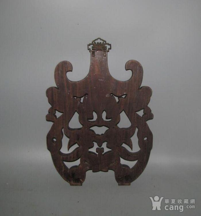 红酸枝雕刻板图6