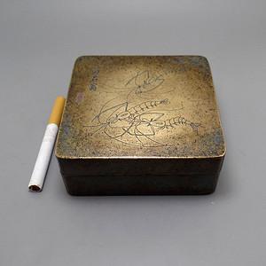 铜墨盒  稀有   文人用品