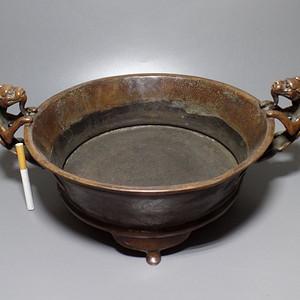 双龙  满工   巨型铜香炉