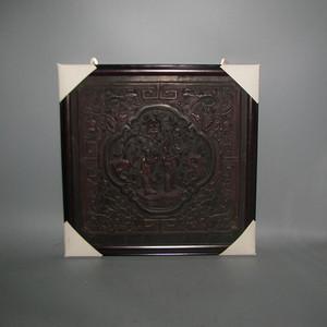 一片比较漂亮的楠木雕刻板