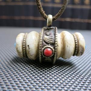 藏式砗磲贝壳吊坠