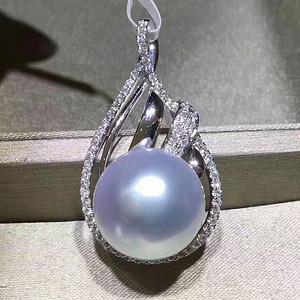 天然白珍珠吊坠