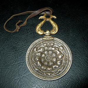 民国铜九宫牌