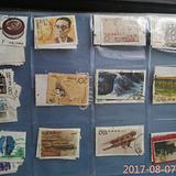 60余张各类邮票