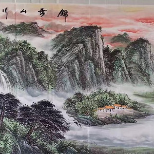 易厚德精品小八尺240x96,《锦绣山川》