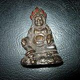 联盟 老件铜佛像