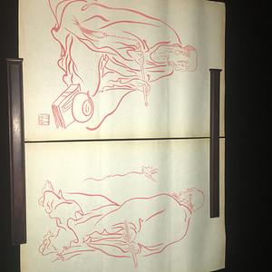18罗汉书画