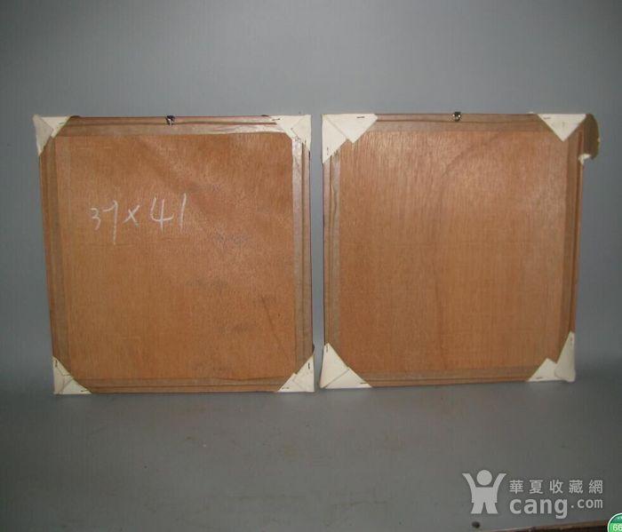 花梨木混嵌板一对图6