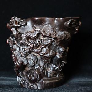联盟 老红酸枝角杯