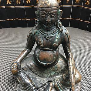 藏传老佛像