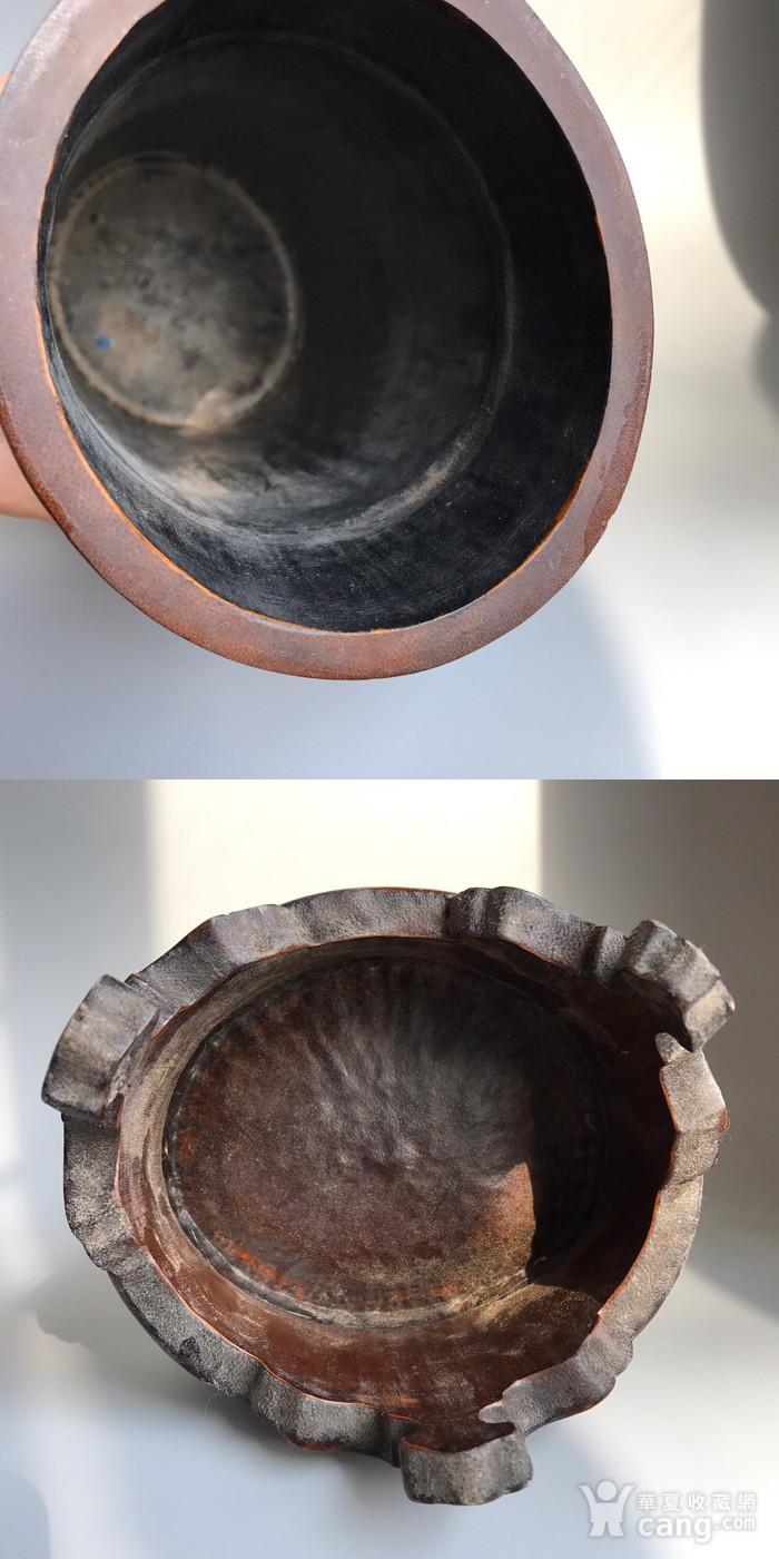 精品收藏级 清代竹雕帽筒图11