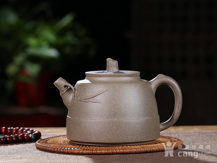 刘少明 原矿青段泥 竹韵壶图1