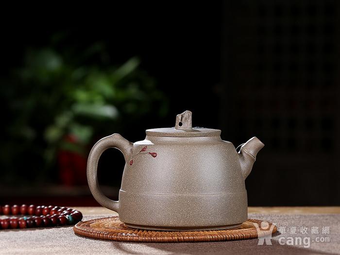 刘少明 原矿青段泥 竹韵壶图2