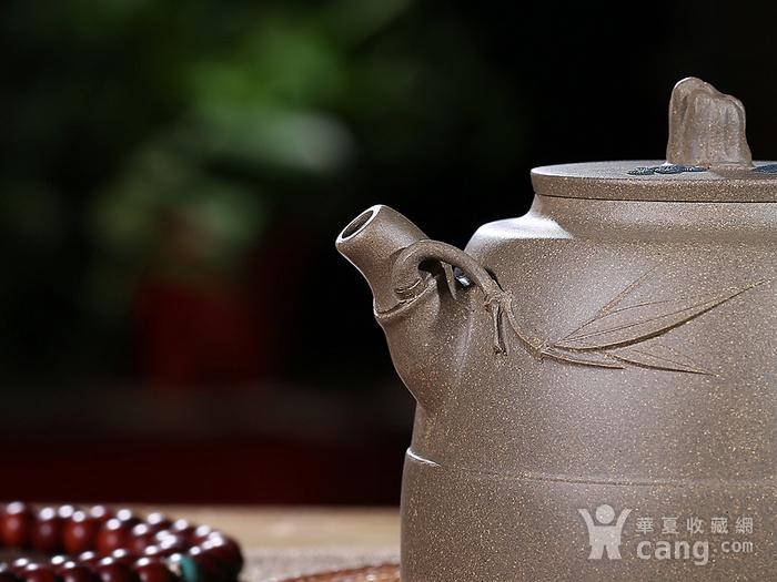 刘少明 原矿青段泥 竹韵壶图3