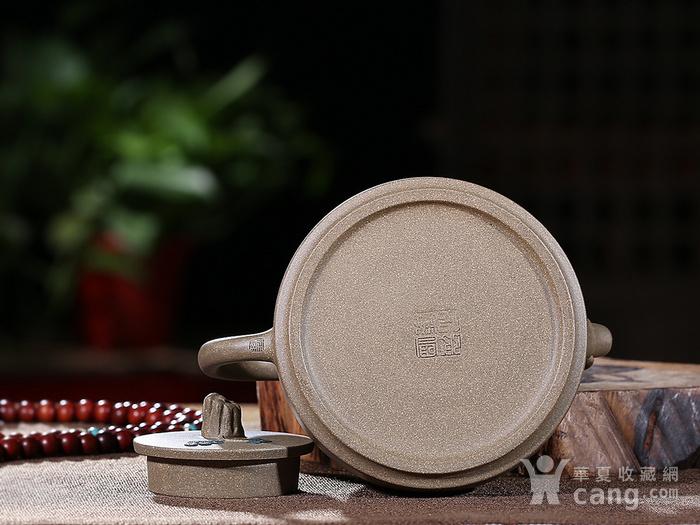 刘少明 原矿青段泥 竹韵壶图9