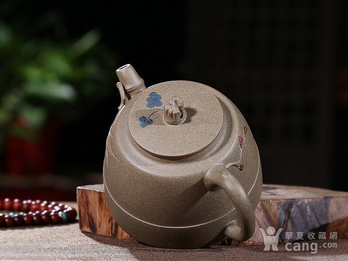 刘少明 原矿青段泥 竹韵壶图6