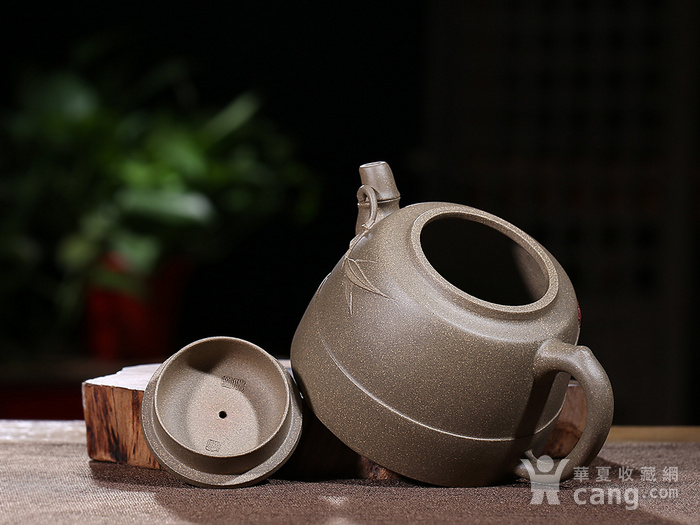 刘少明 原矿青段泥 竹韵壶图8