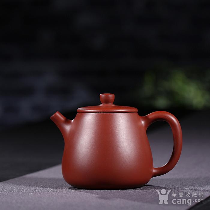 戴鹏飞 原矿朱泥大红袍  高石瓢壶图1
