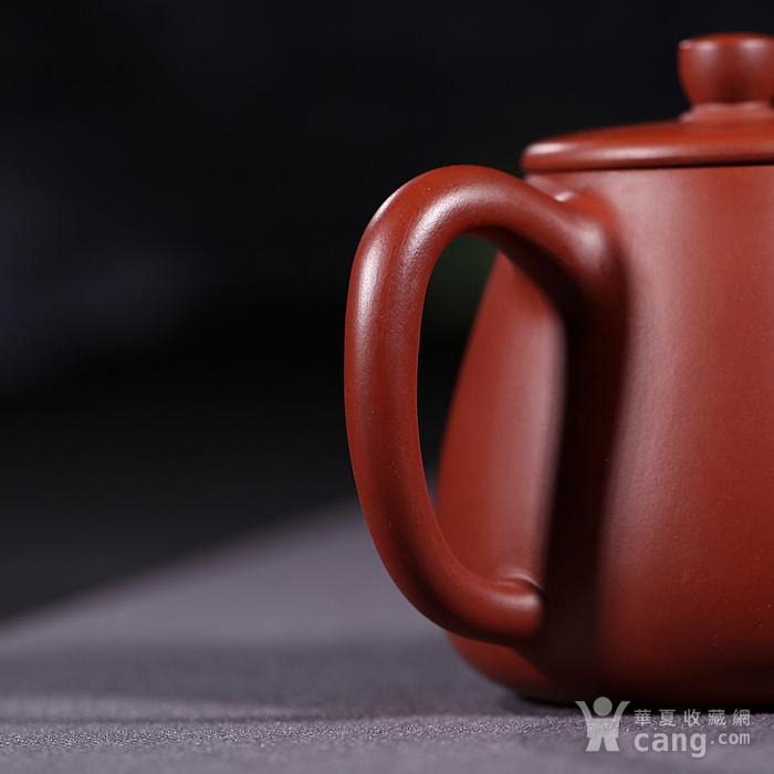 戴鹏飞 原矿朱泥大红袍  高石瓢壶图4