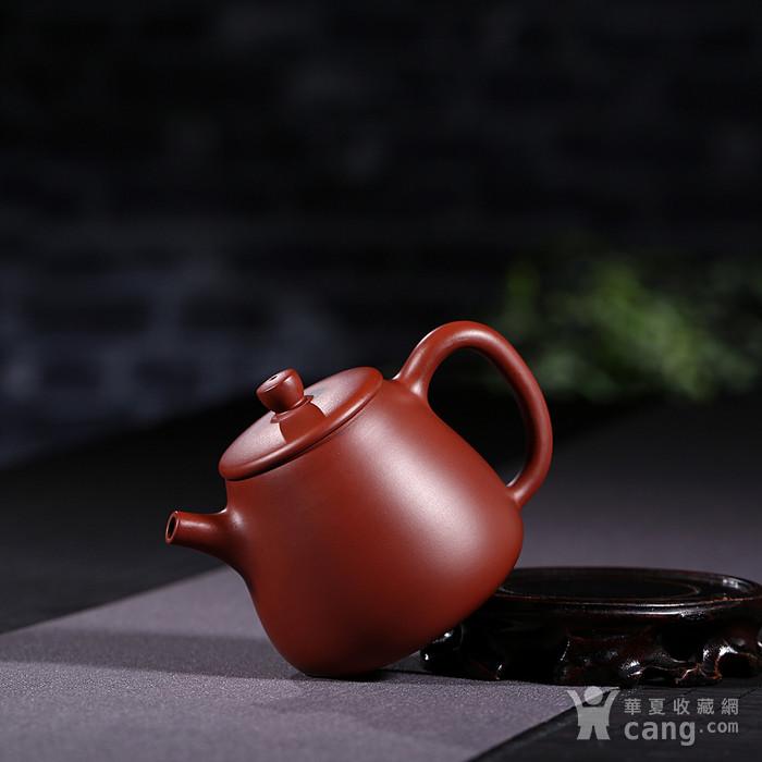 戴鹏飞 原矿朱泥大红袍  高石瓢壶图7