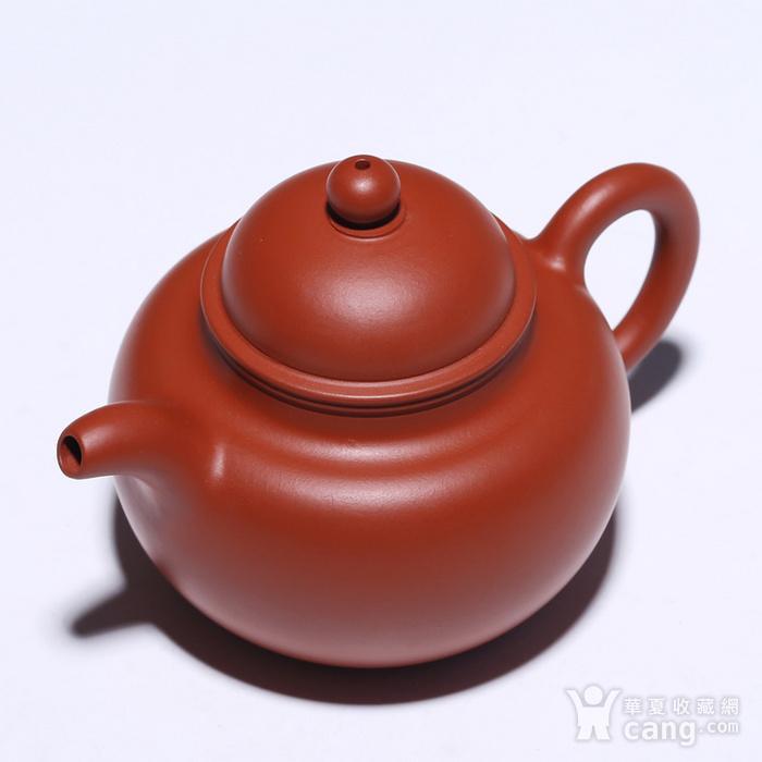 戴鹏飞 原矿黄金朱泥 掇球壶图8