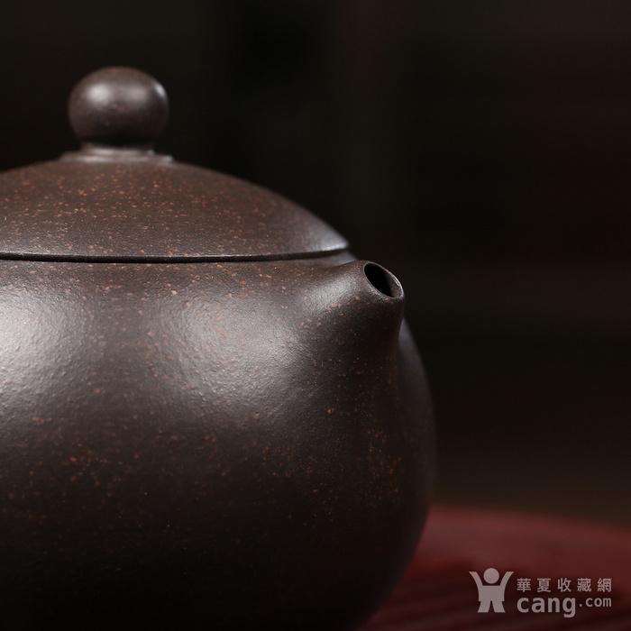 戴鹏飞 原矿朱泥黑金砂 迷你西施图4