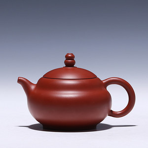卢伟萍 原矿朱泥大红袍 葫芦壶