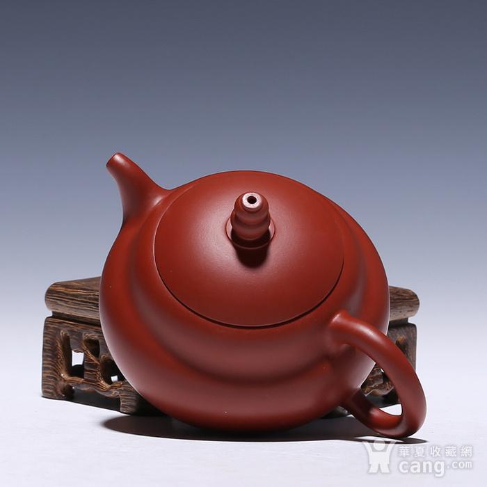 卢伟萍 原矿朱泥大红袍 葫芦壶图7