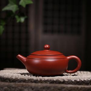 卢伟萍 原矿朱泥大红袍 双线壶