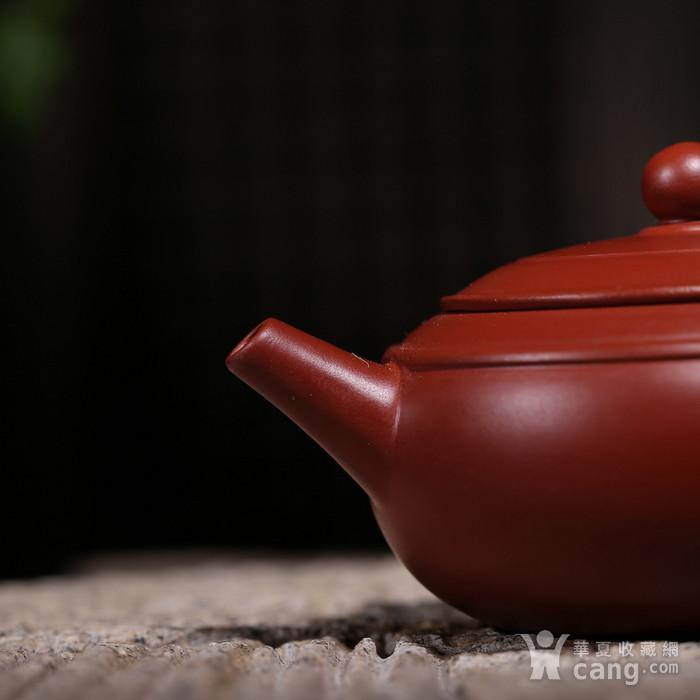 卢伟萍 原矿朱泥大红袍 双线壶图5