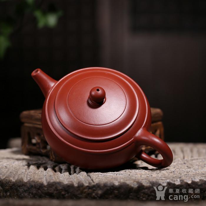 卢伟萍 原矿朱泥大红袍 双线壶图7