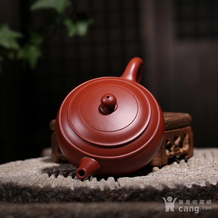 卢伟萍 原矿朱泥大红袍 双线壶图8