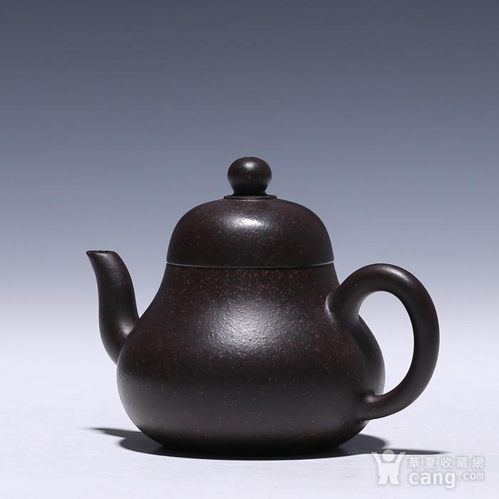 卢伟萍 原矿朱泥黑金刚 思亭壶图4