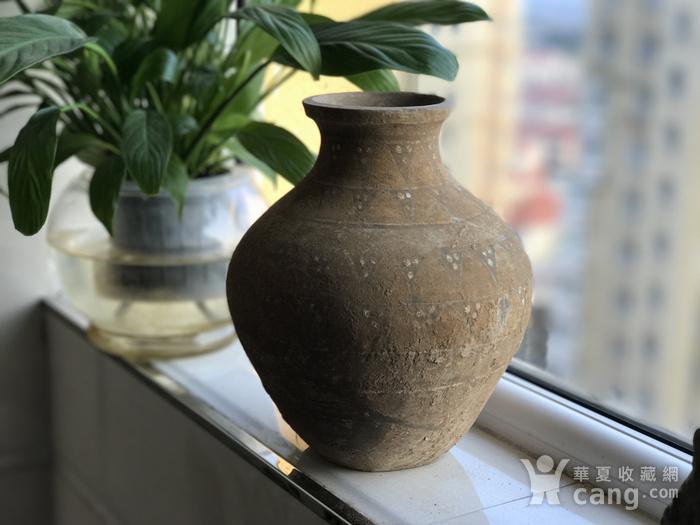 彩绘陶瓶一只图1