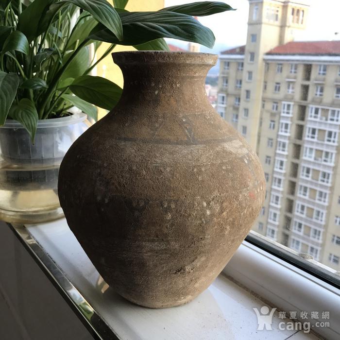 彩绘陶瓶一只图5