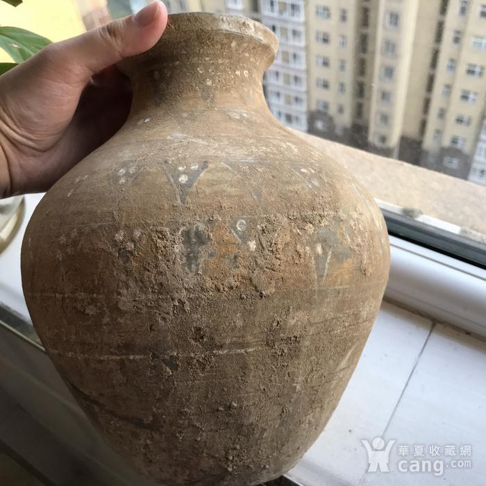 彩绘陶瓶一只图7