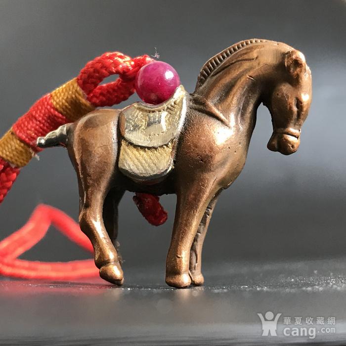 回流 清代小铜马一匹图5