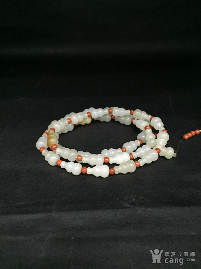一串葫芦形籽料项链图1