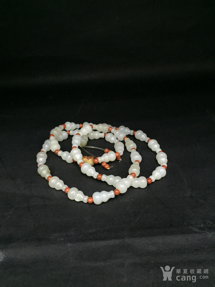 一串葫芦形籽料项链图9