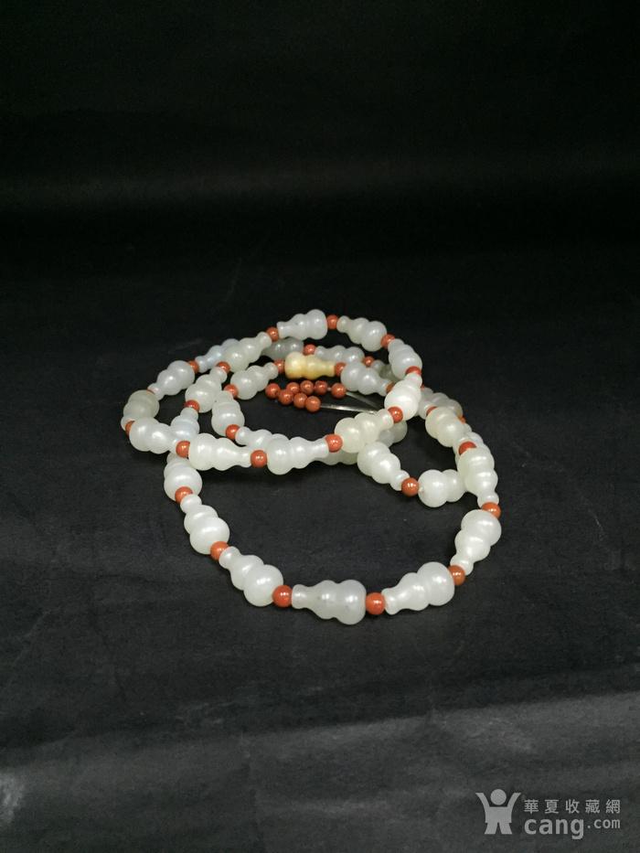 一串葫芦形籽料项链图10