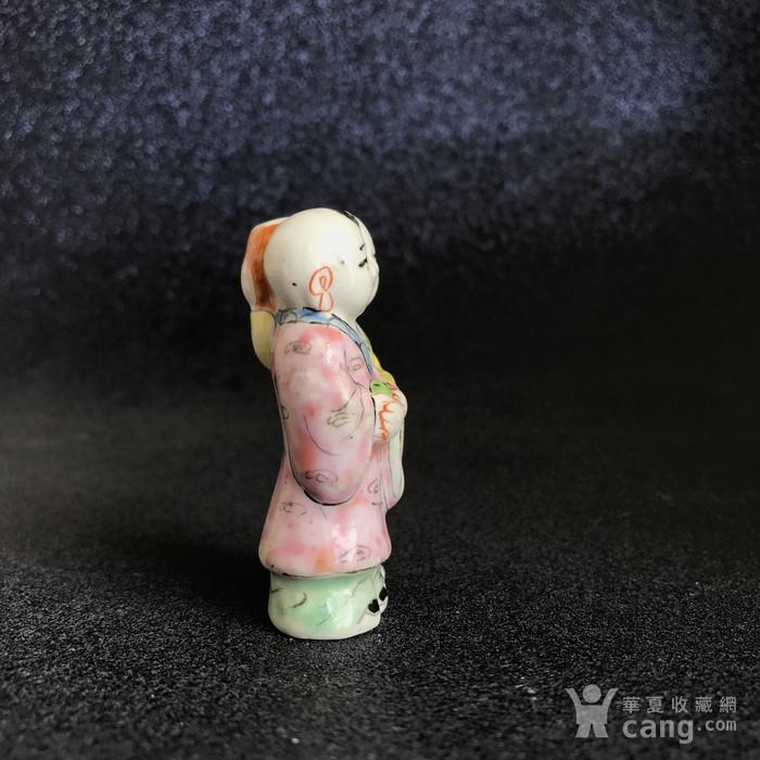 清代粉彩和合二仙鼻烟壶图3