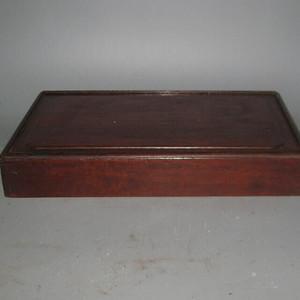 花梨木麻将盒