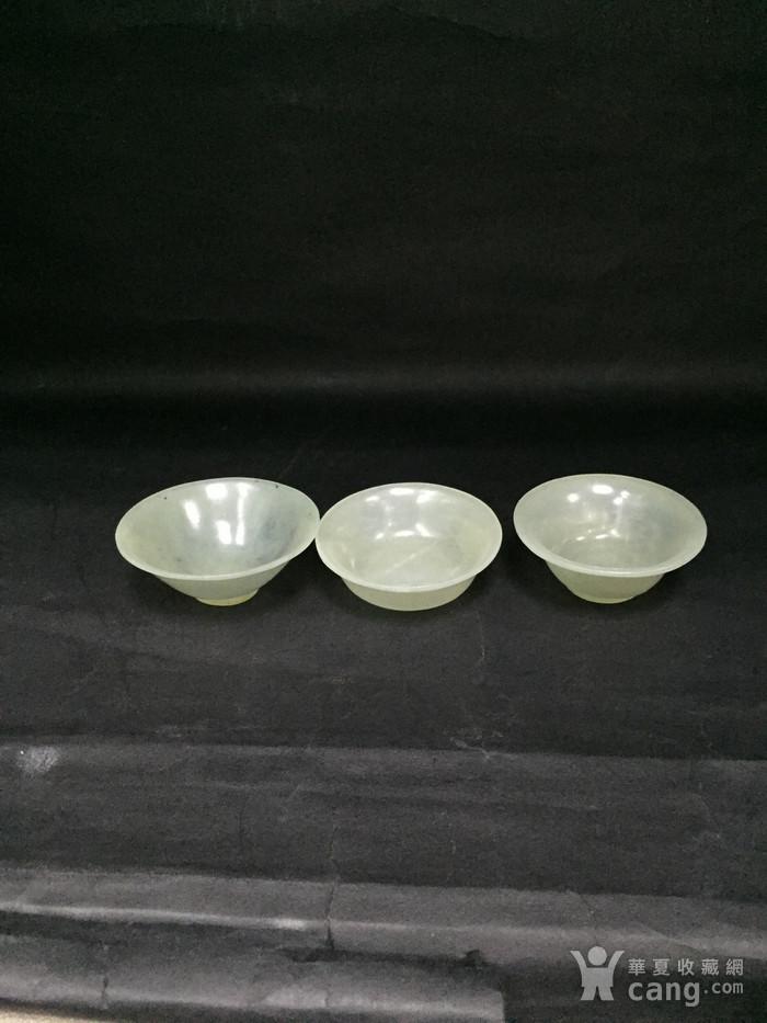 三个和田玉小杯子图6