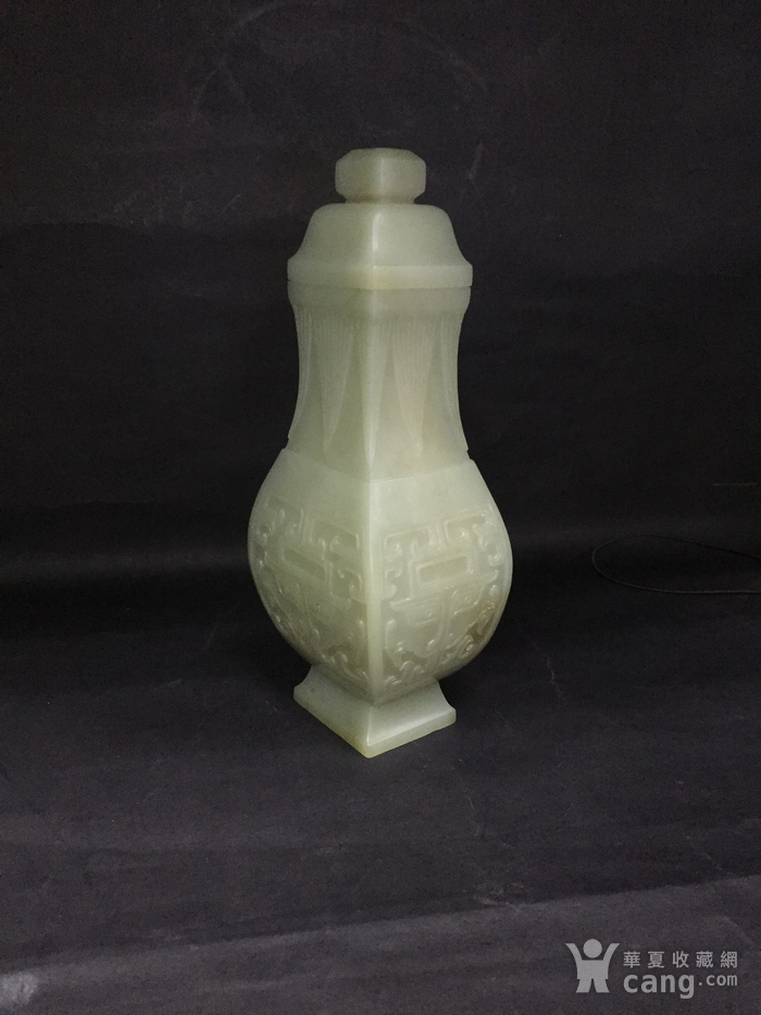 兽面纹盖瓶图4