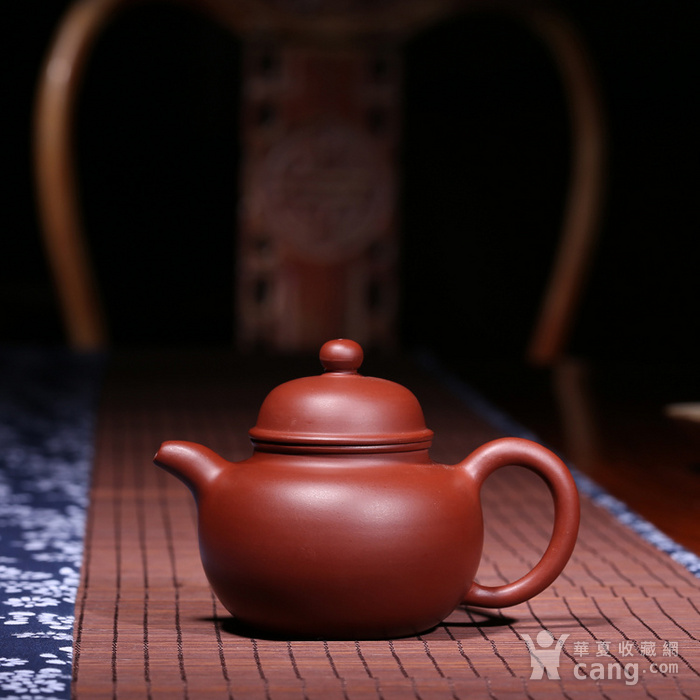 肖霞 原矿朱泥大红袍 掇球壶图1