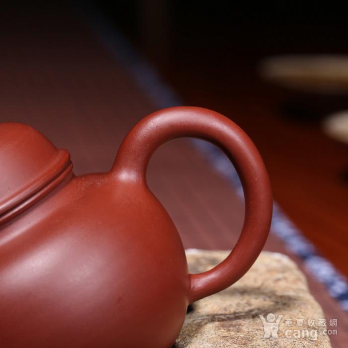 肖霞 原矿朱泥大红袍 掇球壶图3