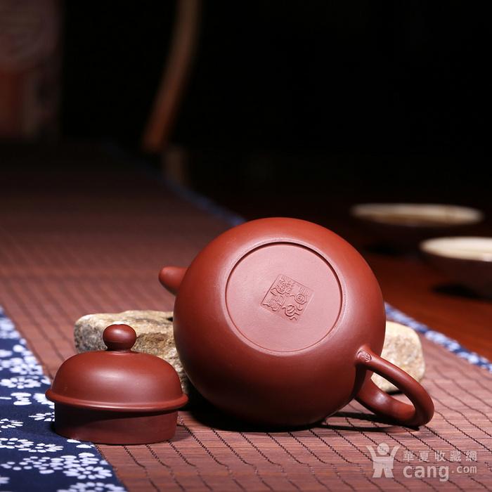 肖霞 原矿朱泥大红袍 掇球壶图9