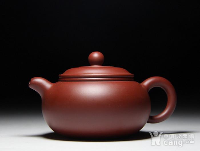 肖霞 原矿朱泥大红袍  双线壶图3
