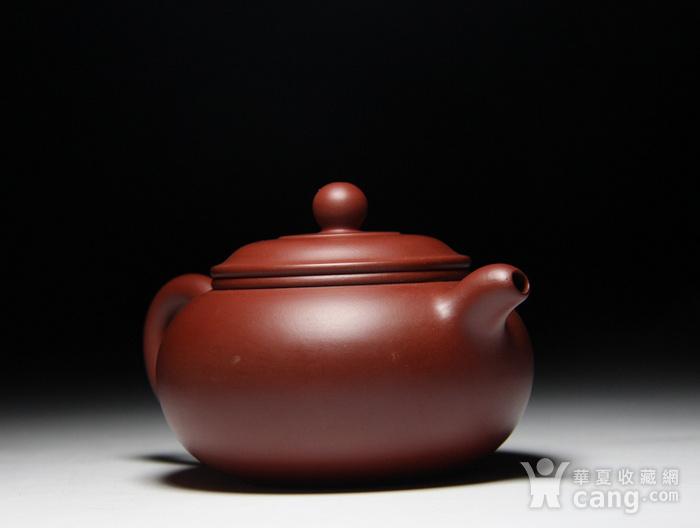 肖霞 原矿朱泥大红袍  双线壶图4