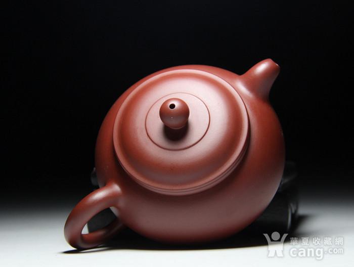 肖霞 原矿朱泥大红袍  双线壶图7